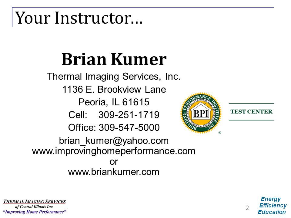 Thermal Imaging Services, Inc.