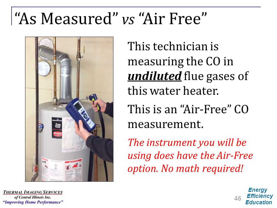 As Measured vs Air Free