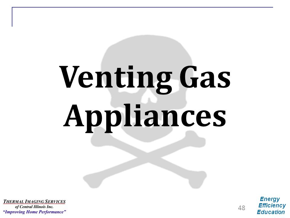 Venting Gas Appliances