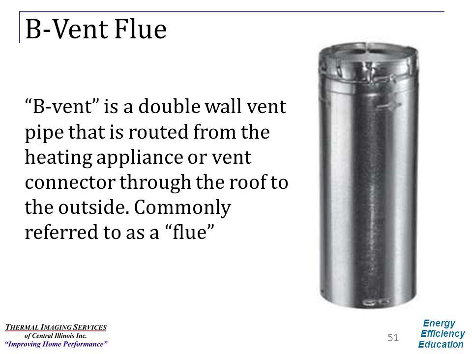 B-Vent Flue