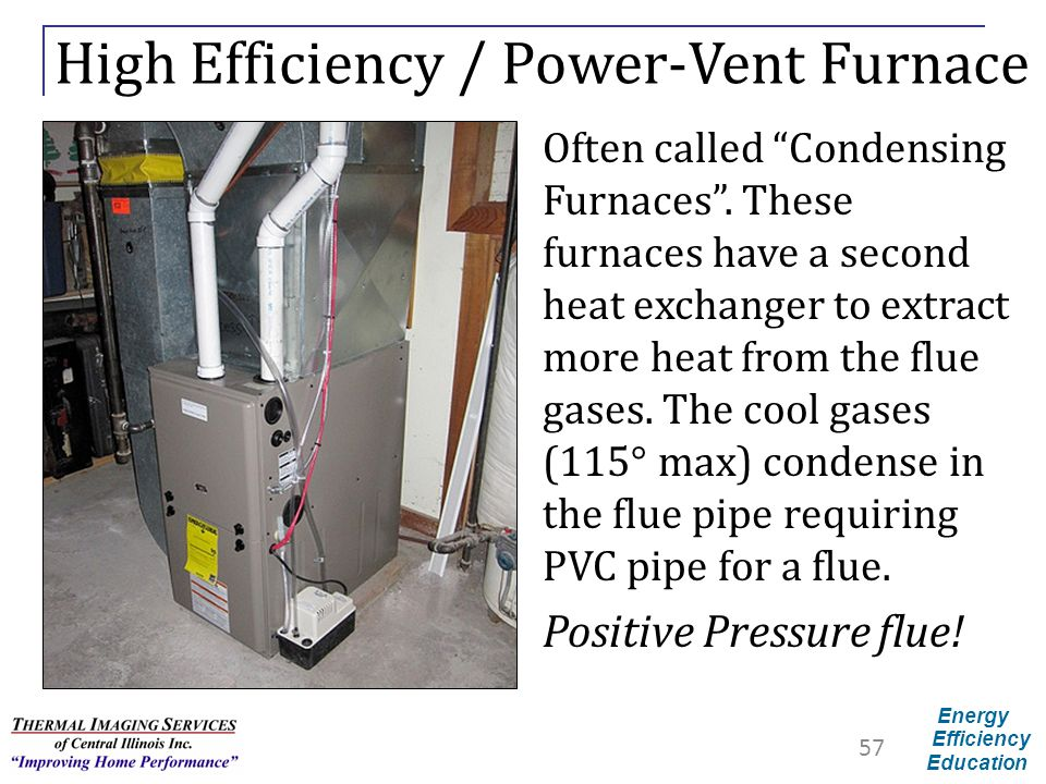 High Efficiency / Power-Vent Furnace