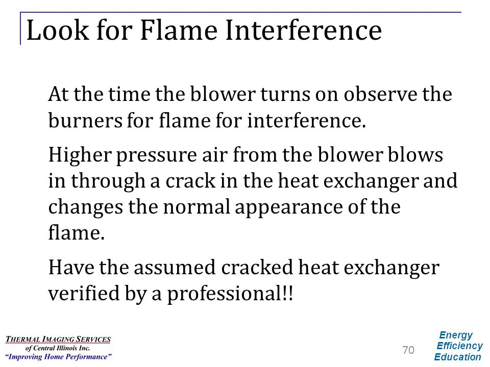 Look for Flame Interference