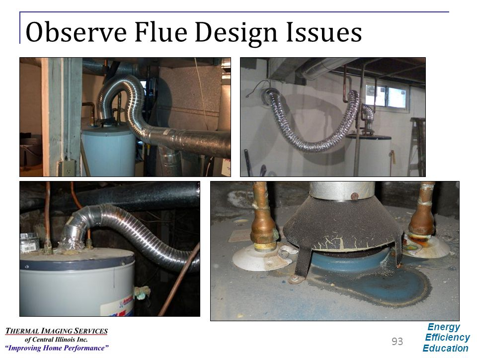 Observe Flue Design Issues