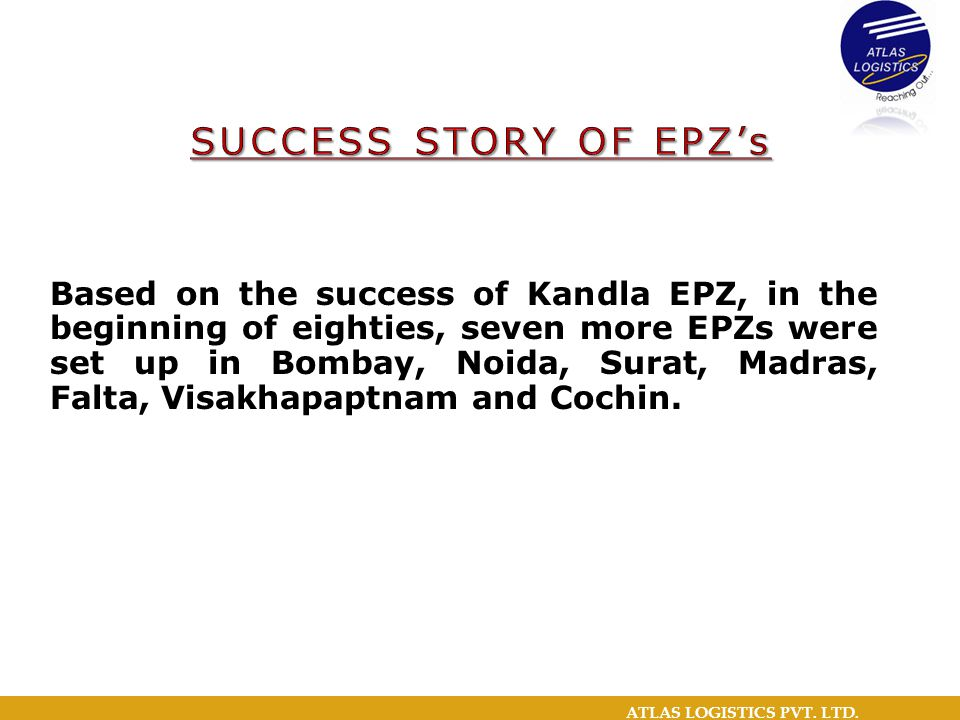 SUCCESS STORY OF EPZ's