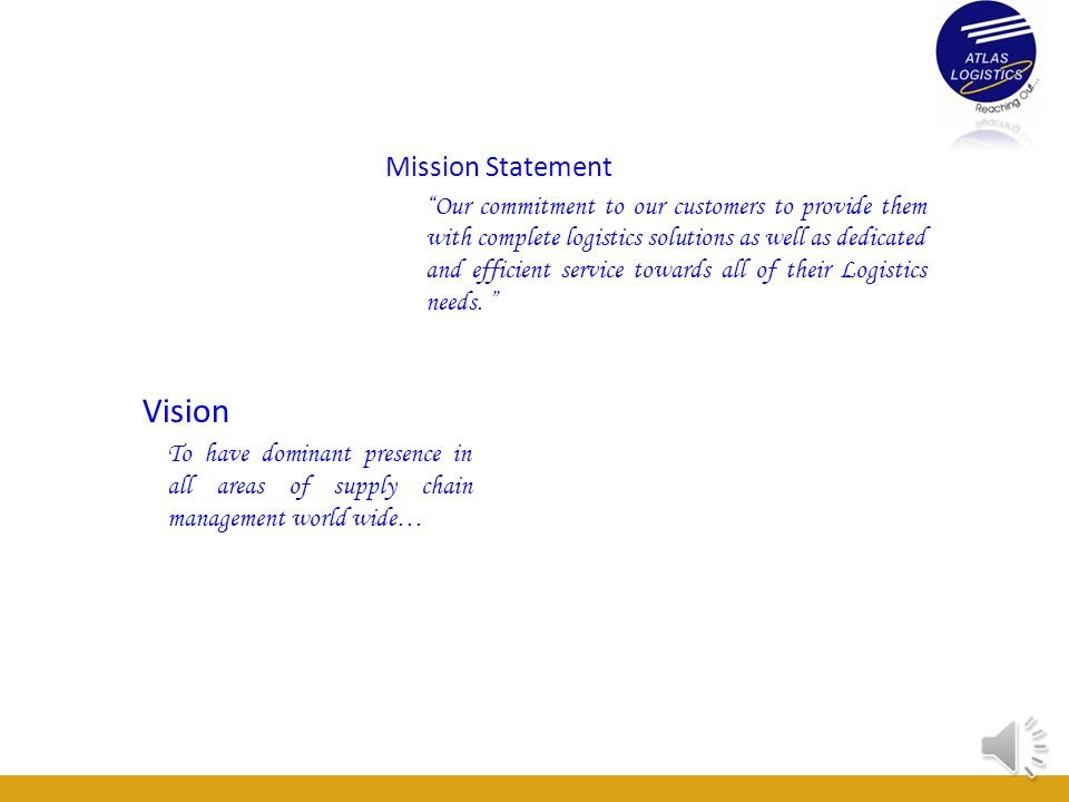 Vision Mission Statement