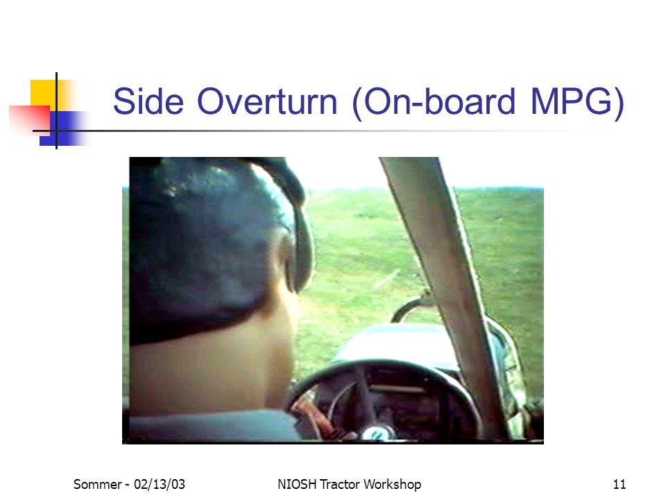Side Overturn (On-board MPG)