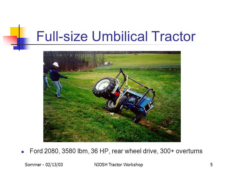 Full-size Umbilical Tractor