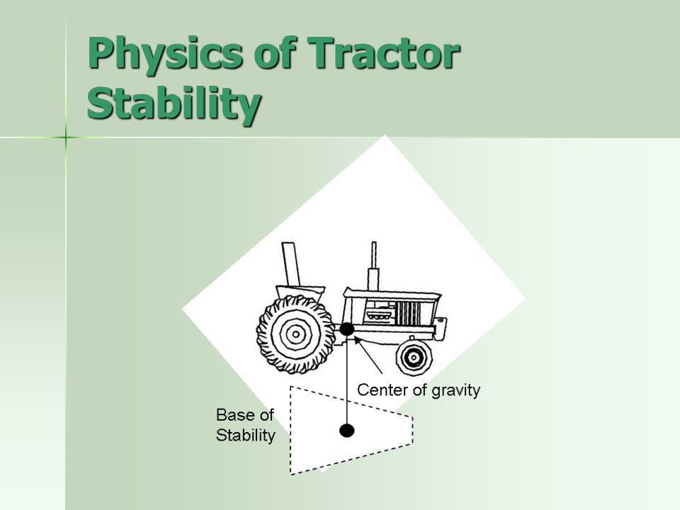 Physics of Tractor Stability