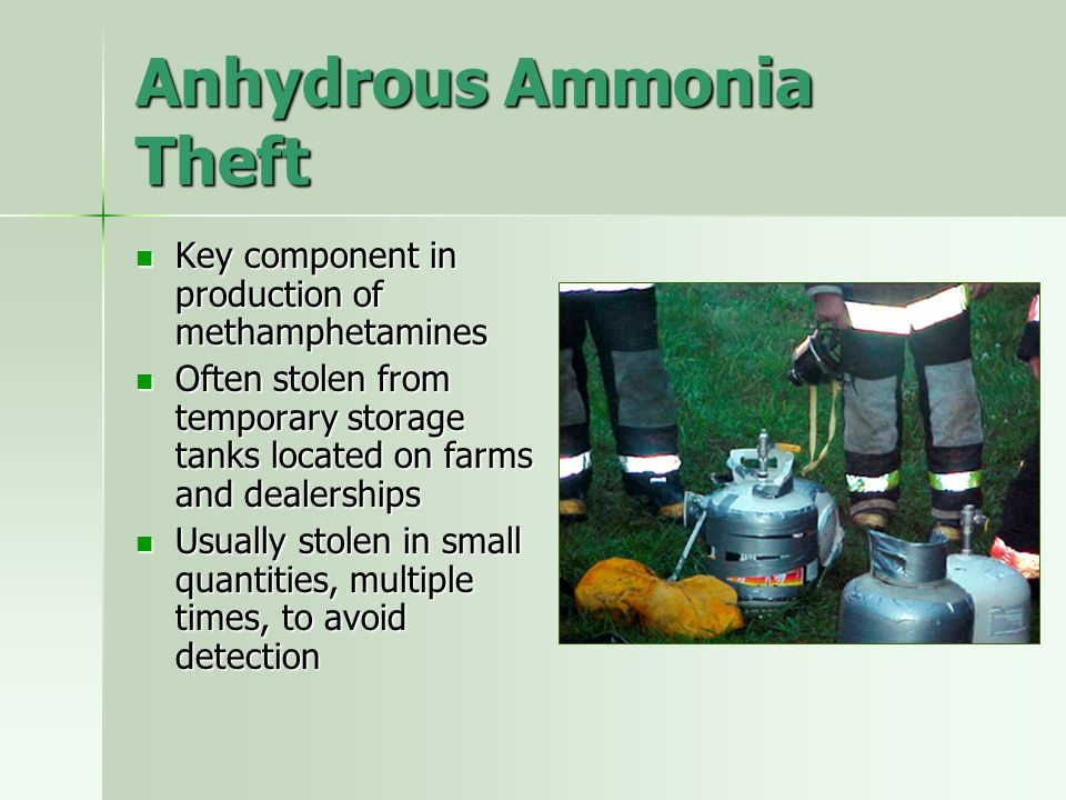 Anhydrous Ammonia Theft