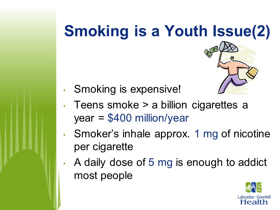 Smoking is a Youth Issue(2)