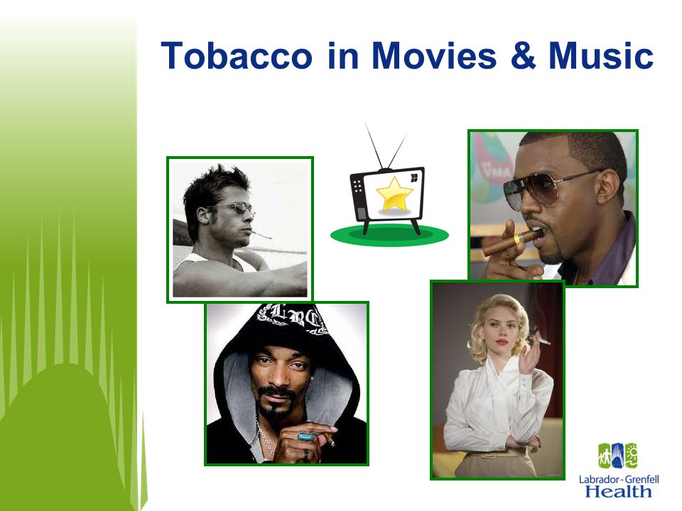 Tobacco in Movies & Music