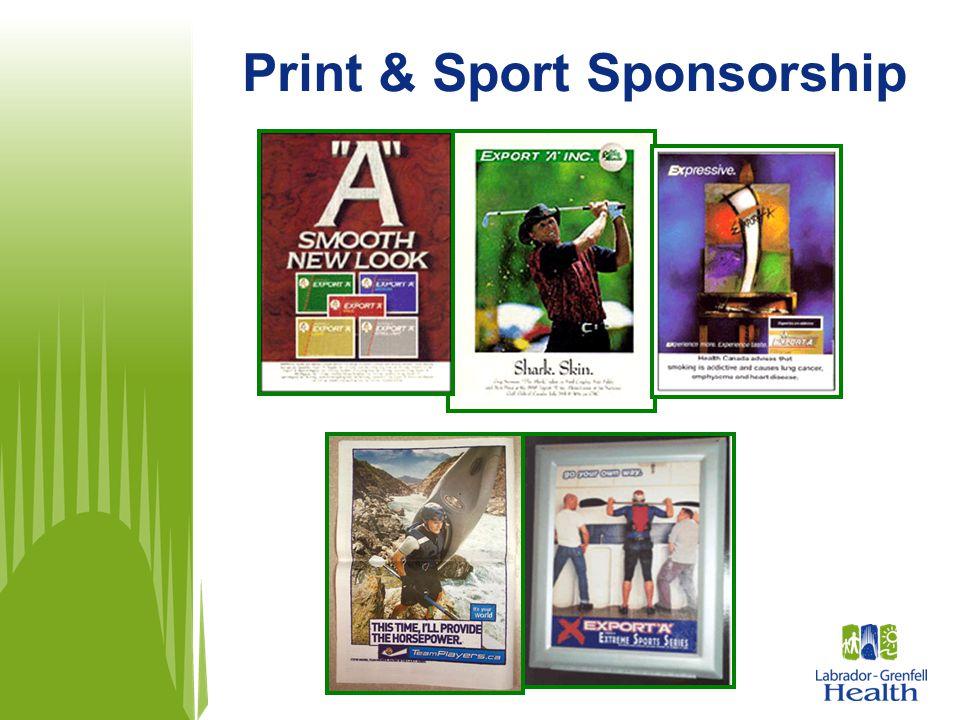 Print & Sport Sponsorship