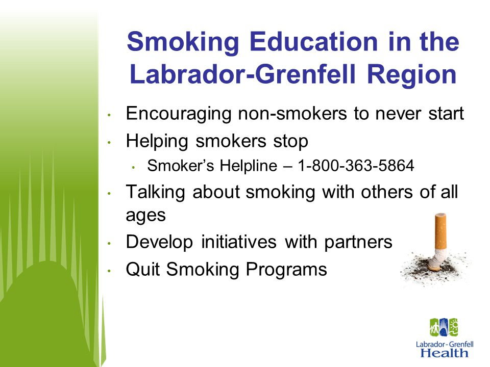 Smoking Education in the Labrador-Grenfell Region