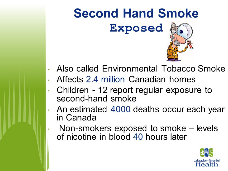 Second Hand Smoke Exposed