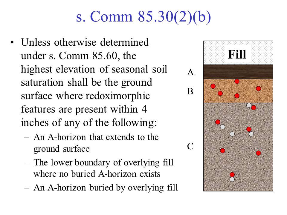 s. Comm 85.30(2)(b)