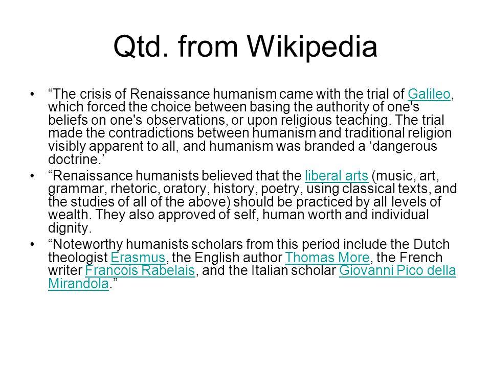 Qtd. from Wikipedia