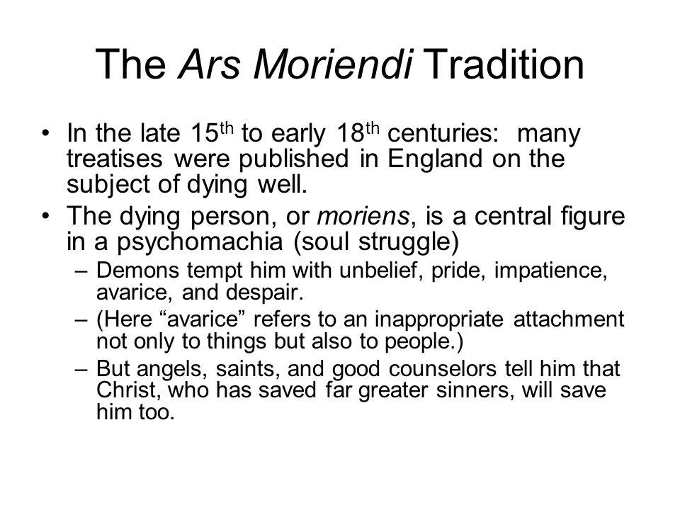 The Ars Moriendi Tradition