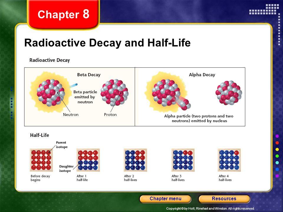 Radioactive Decay and Half-Life