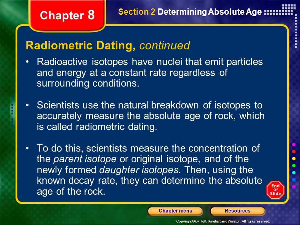 Using radioactive hookup and samples of earth and