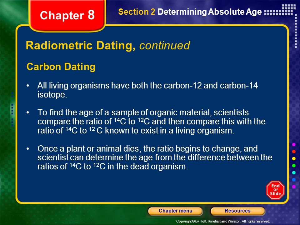 Difference between radioactive dating and radiocarbon