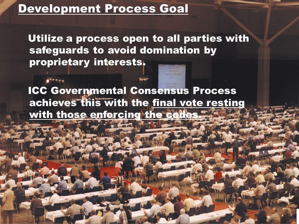 Development Process Goal