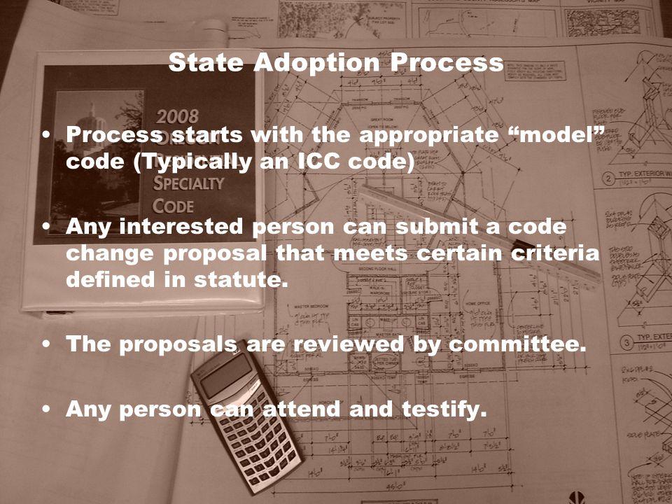 State Adoption Process