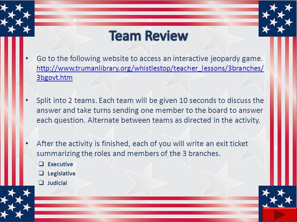 Team Review