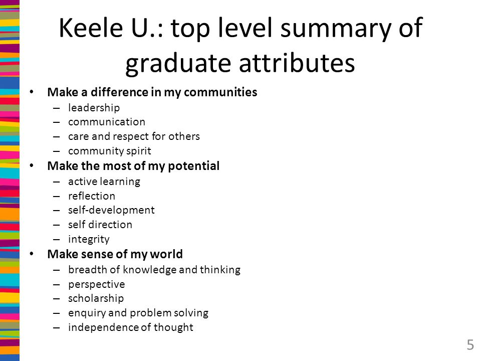 tip graduate attributes Think about how you can demonstrate these attributes in your bullet points  without  unless you're a recent graduate, put your education after your  experience  there are plenty of good reasons to keep this document in tip-top  shape.