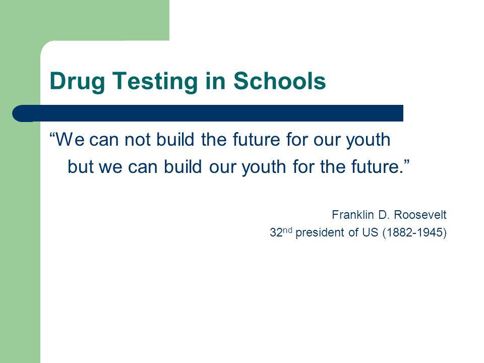 Drug Testing in Schools