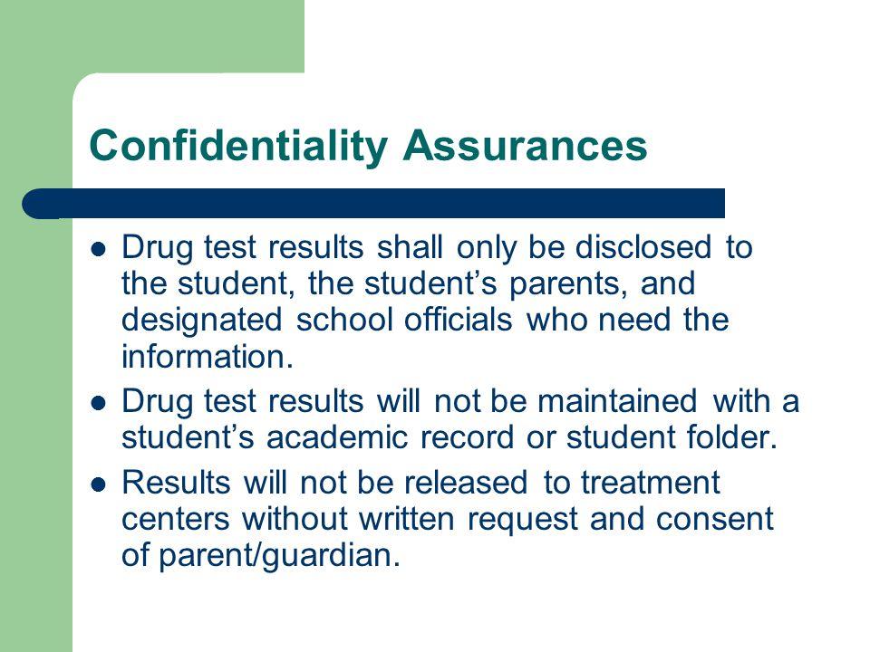 Confidentiality Assurances