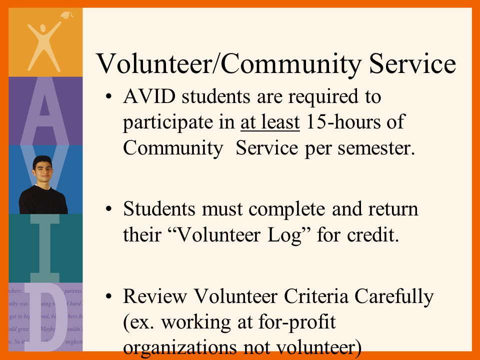Volunteer/Community Service