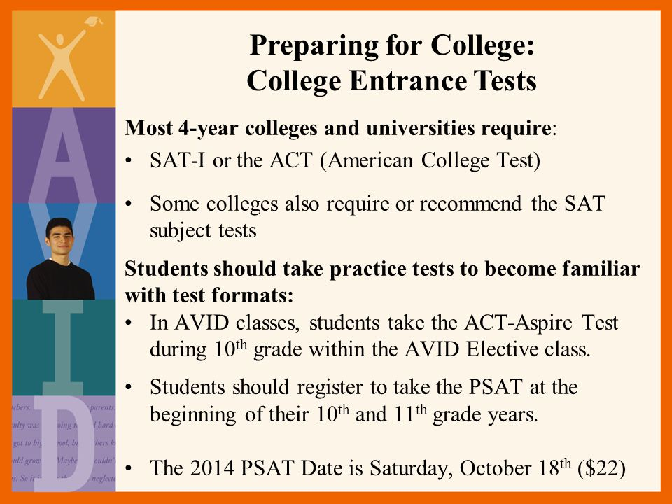 Preparing for College: College Entrance Tests