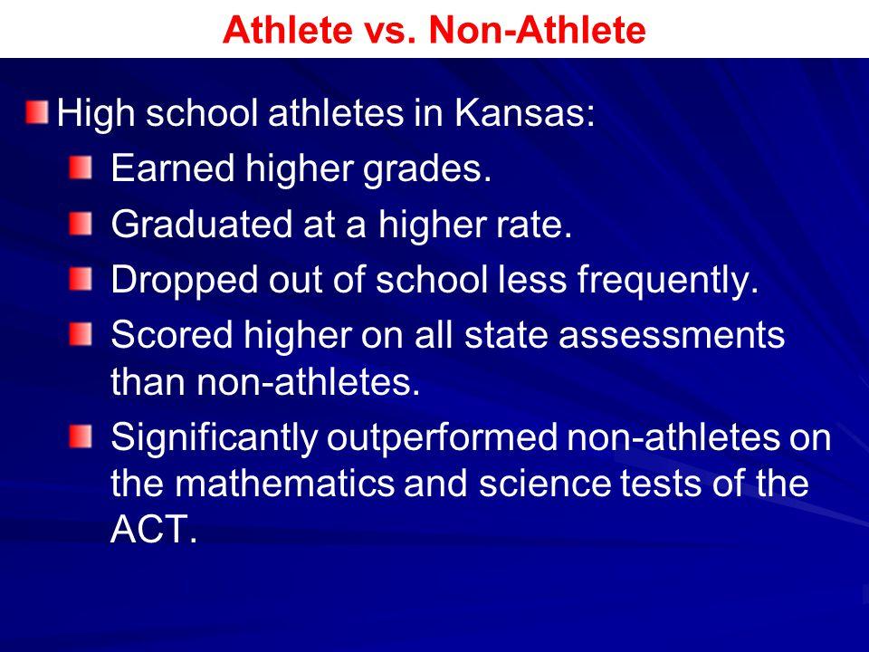 Athlete vs. Non-Athlete