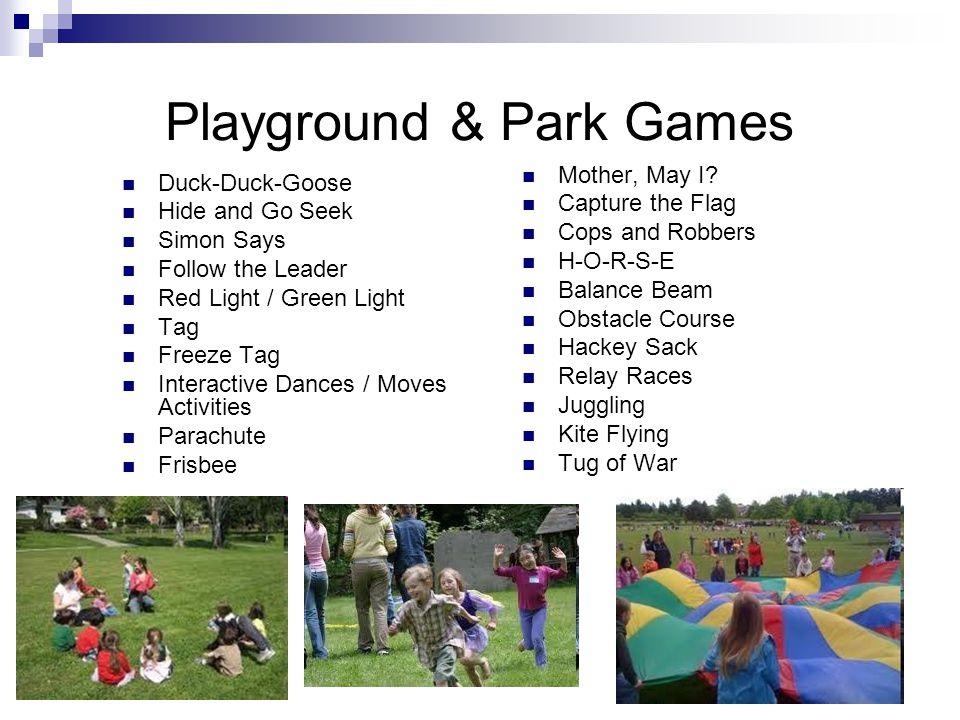 Playground & Park Games