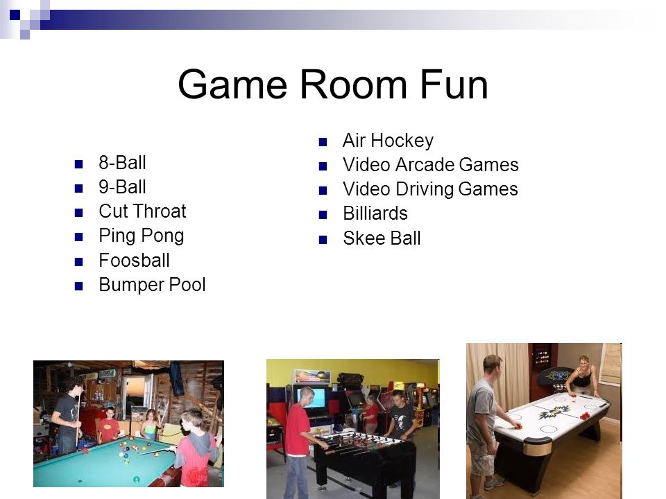 Game Room Fun Air Hockey Video Arcade Games Video Driving Games