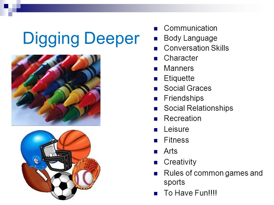 Digging Deeper Communication Body Language Conversation Skills