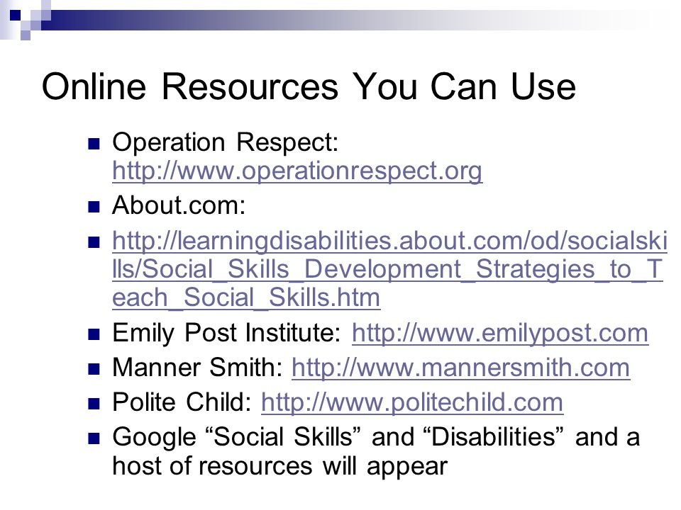 Online Resources You Can Use