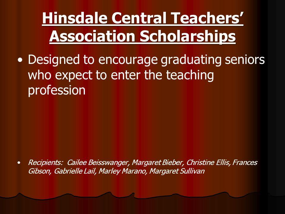 Hinsdale Central Teachers' Association Scholarships