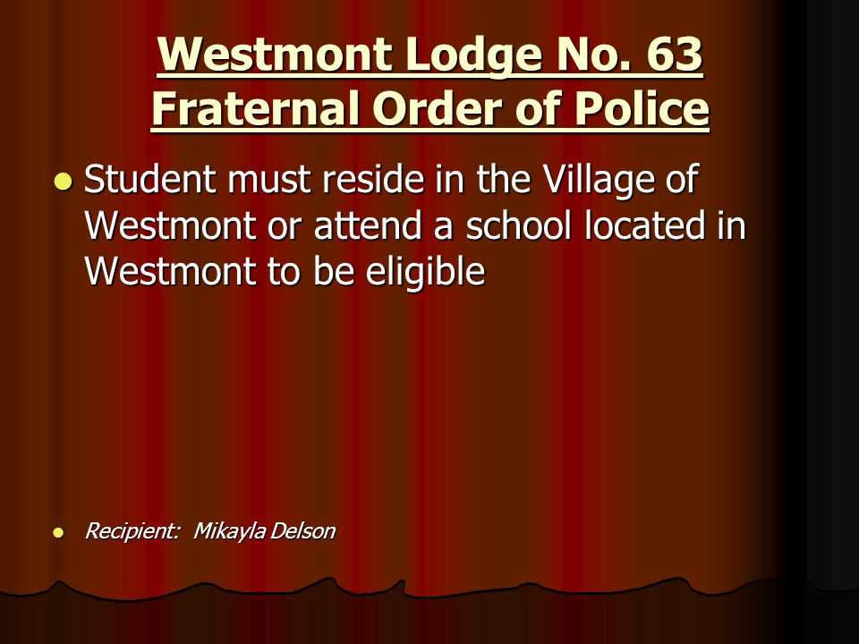 Westmont Lodge No. 63 Fraternal Order of Police