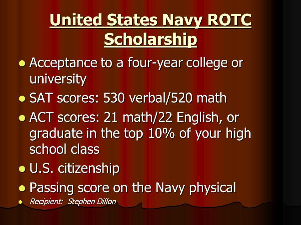 United States Navy ROTC Scholarship
