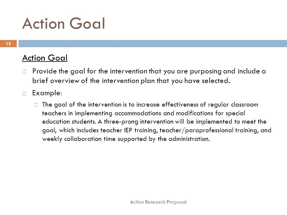 Edd/581 Action Research Proposal - Ppt Video Online Download