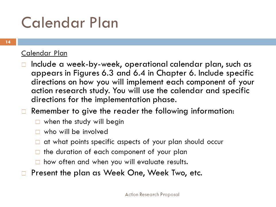 Calendar Plan Calendar Plan.