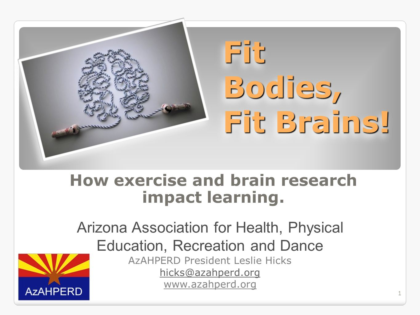 How exercise and brain research impact learning.