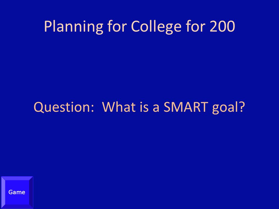 Planning for College for 200