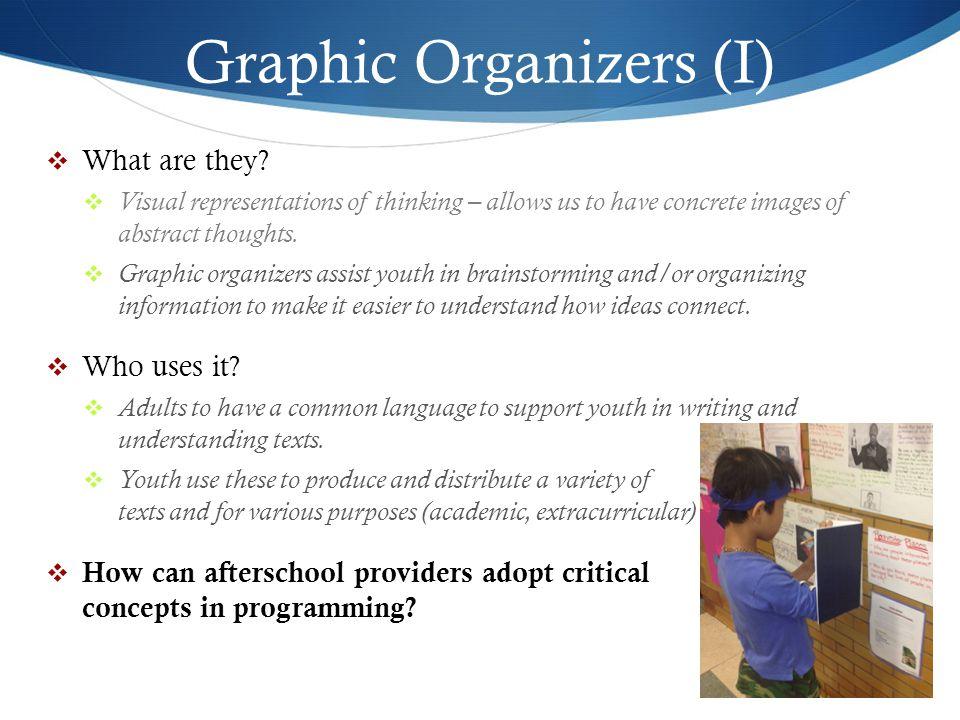Graphic Organizers (I)