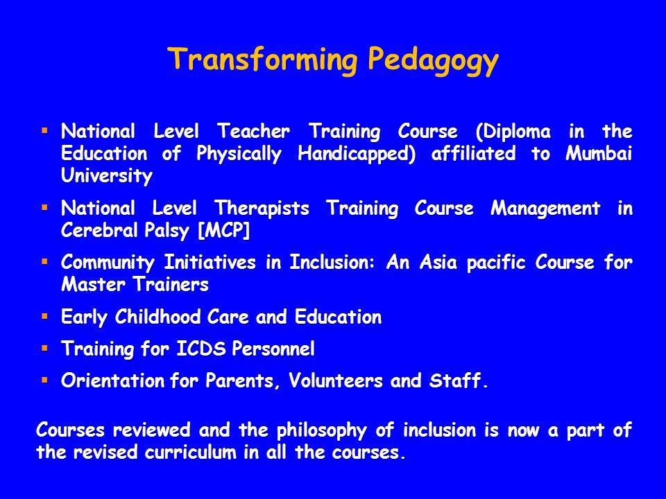 Transforming Pedagogy