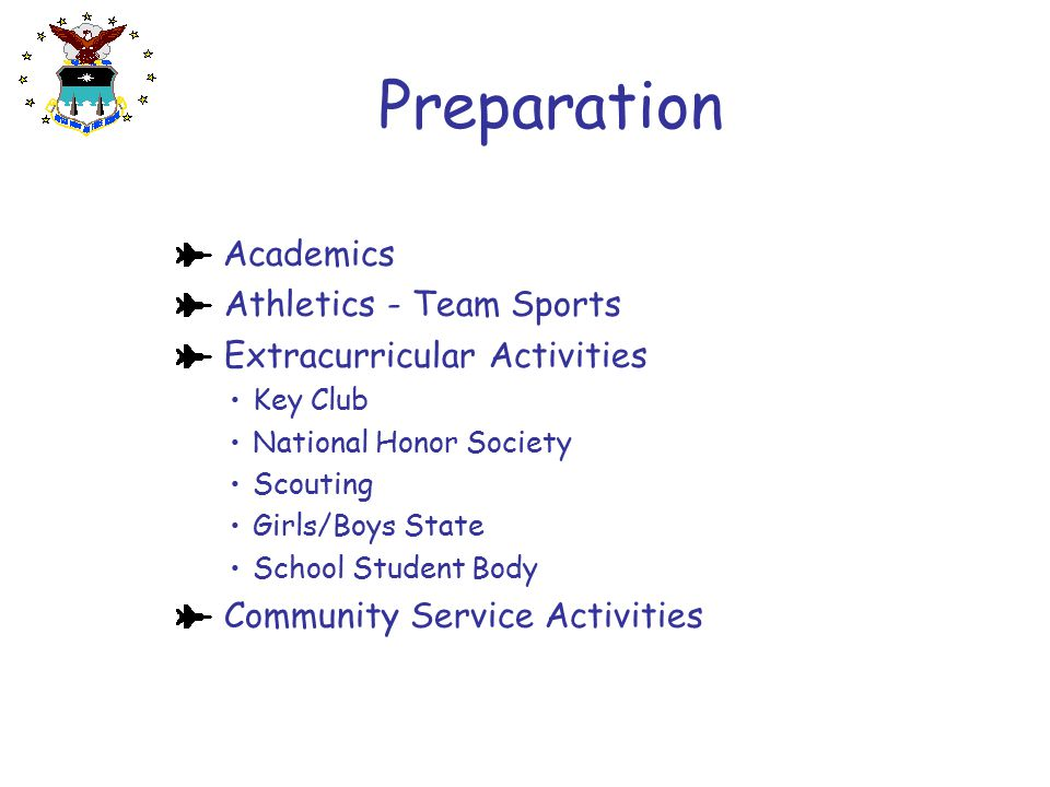 Preparation Academics Athletics - Team Sports