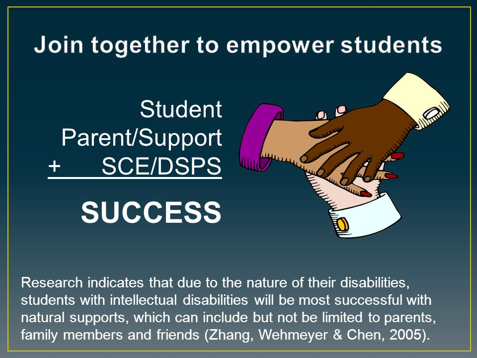 Join together to empower students