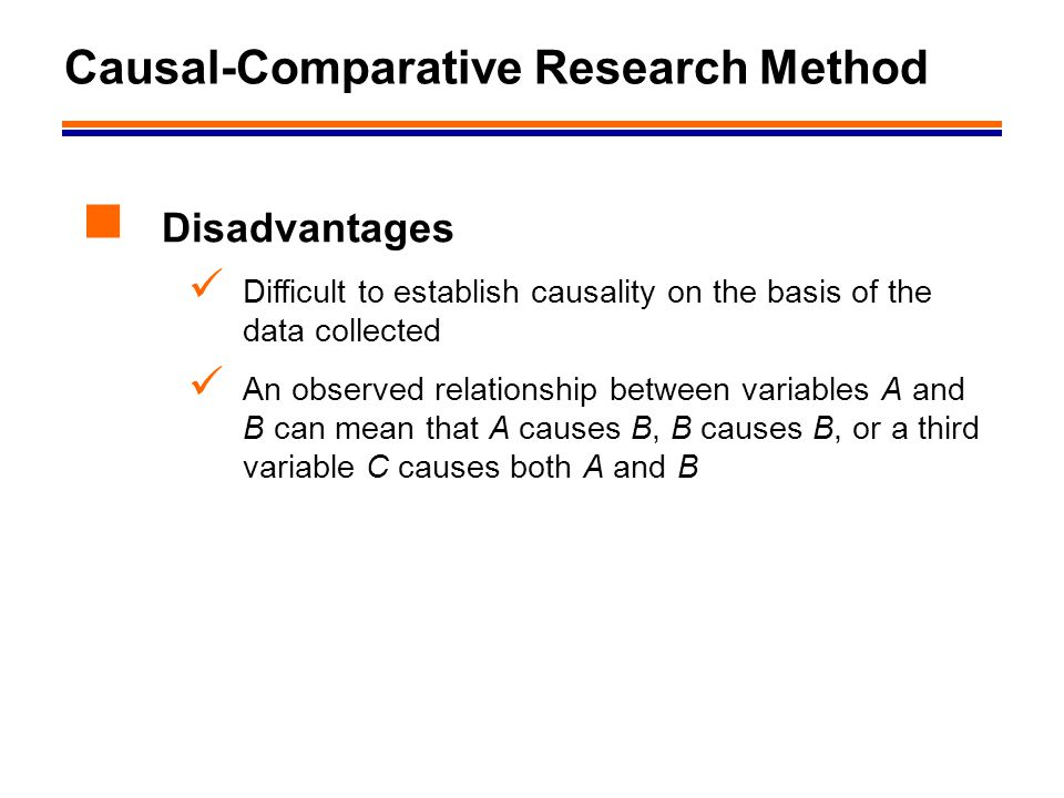 causation and causal relationship research