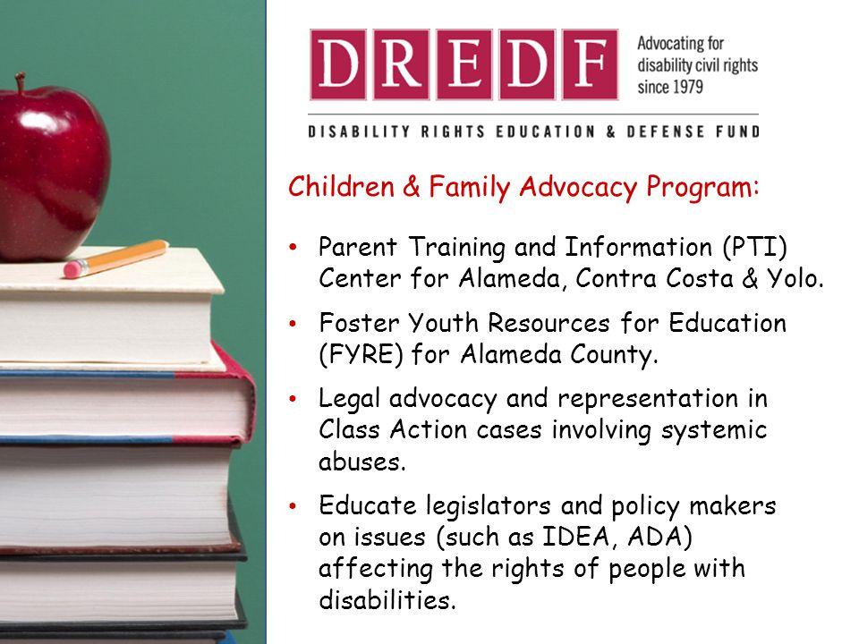 Children & Family Advocacy Program: